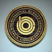 The Congressional Budget Office seal