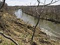 Erosion along the Blue Earth River