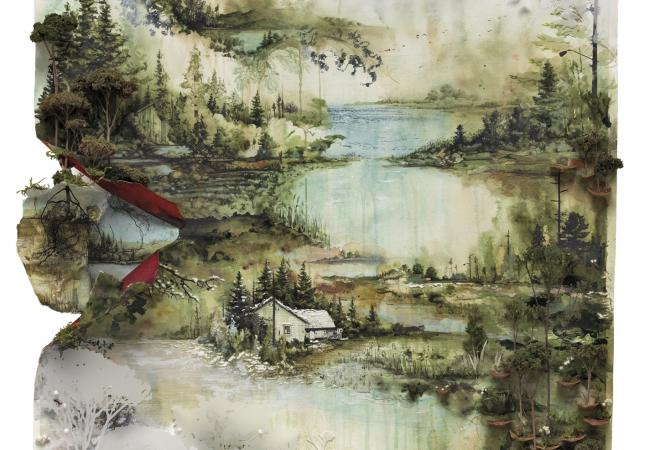 Bon Iver's self-titled album, in stores June 21, 2011