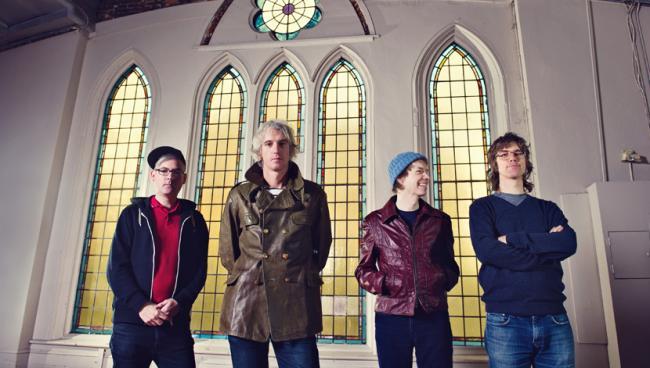 Long-standing Toronto quartet Sloan.