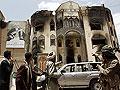 Damaged house in Sanaa