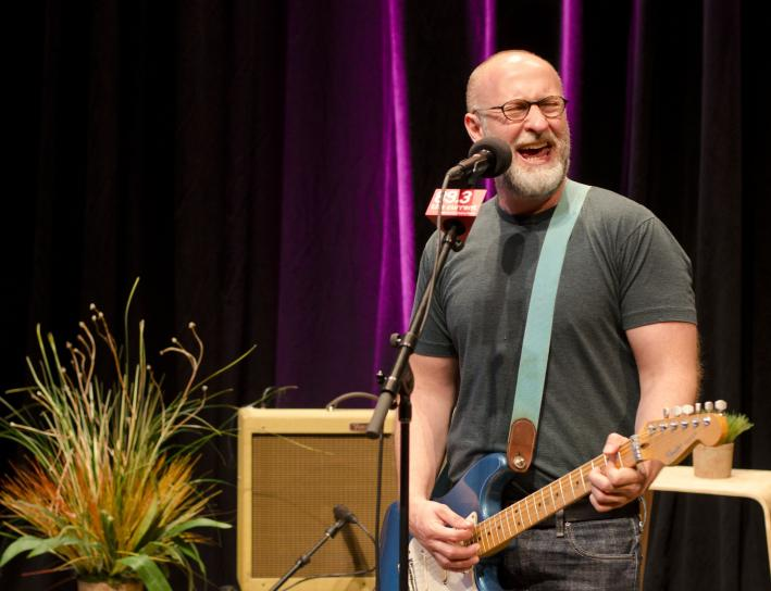 Bob Mould performs in The UBS Forum at Minnesota Public Radio.