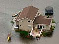 Flooding near Minot, ND