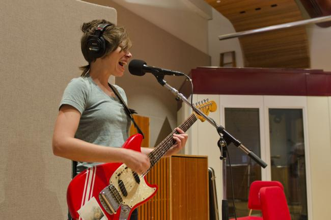 Heather McEntire of the Durham, N.C.-based band Mount Moriah.