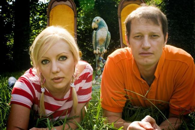 Indie folk duo The Rosebuds.