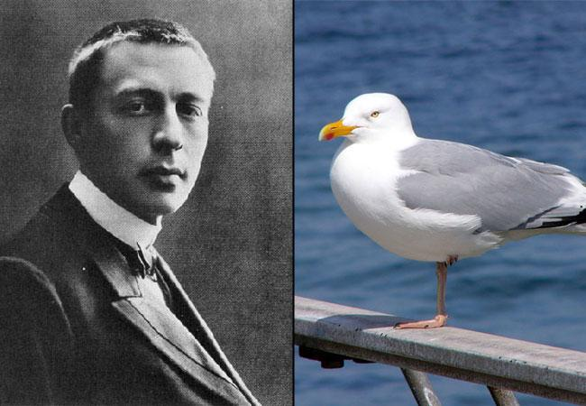 "Sergei Rachmaninoff: Prelude (The Sea and the Gulls"") (Images courtesy Wikimedia commons)"