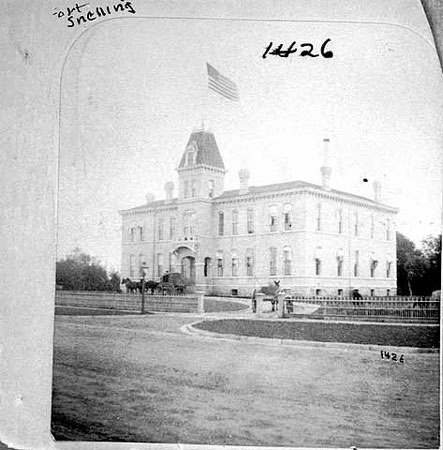 The main administration building was built in 1879.
