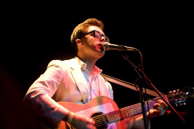 Singer/songwriter Jeremy Messersmith.