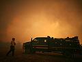 Crews battle Texas wildfires