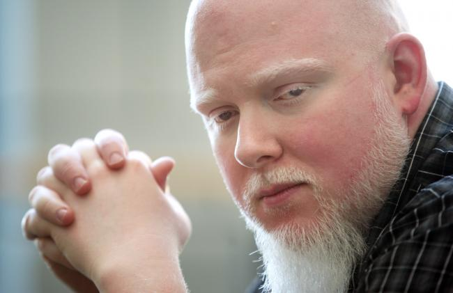 Minnesota musician Brother Ali, in a file photo from September 2011.
