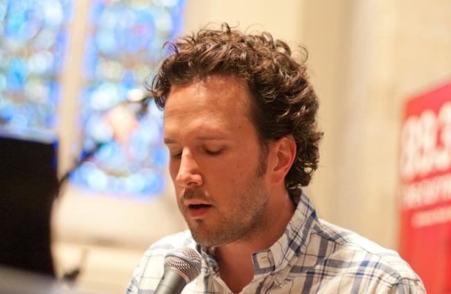 Mason Jennings performed songs from his new album