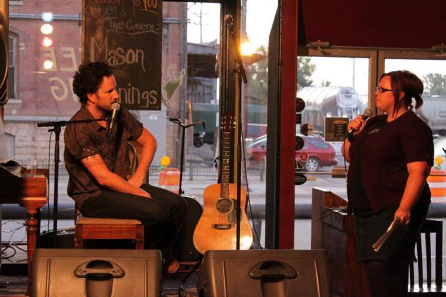 Mason Jennings talks with Jill Riley
