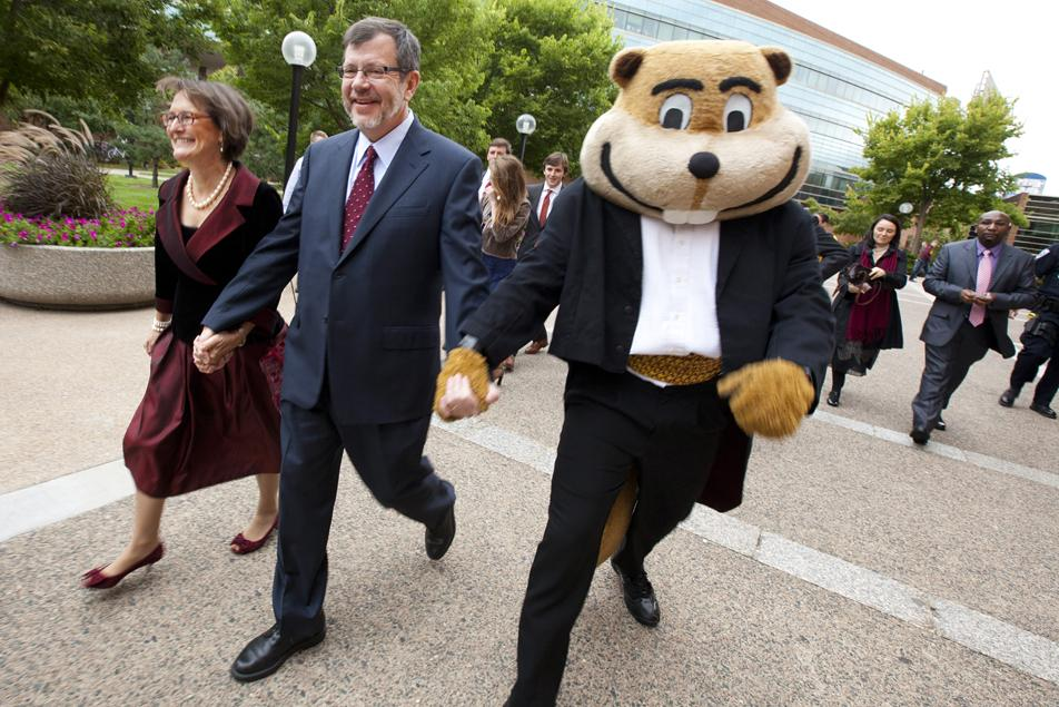 University of Minnesota welcomes new president
