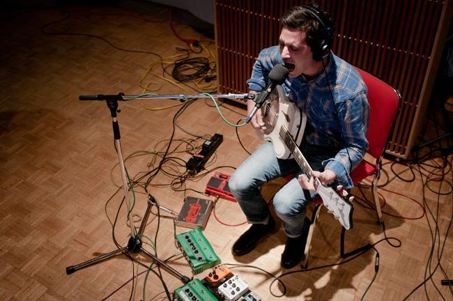Local folk-rockers Peter Wolf Crier.