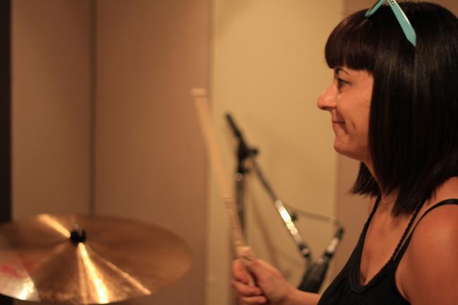 Wild Flag Drummer Janet Weiss