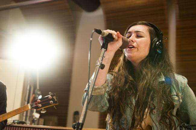 Madeline Follin of the band Cults