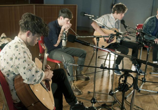 Brooklyn indie-pop group The Drums.