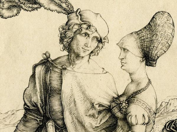 Nuremberg headdress in Albrecht Durer painting