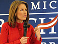 Bachmann campaigns in Iowa