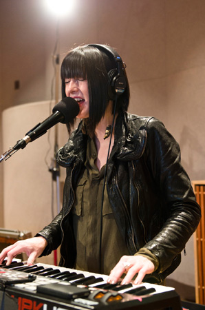 Sarah Barthel of Phantogram