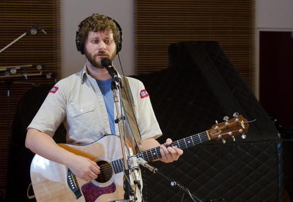 Vancouver-based indie-folk musician Dan Mangan.