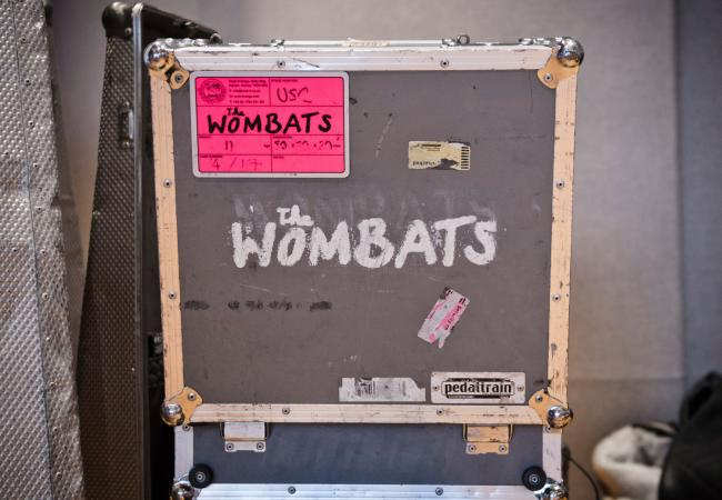 The Wombats tour case