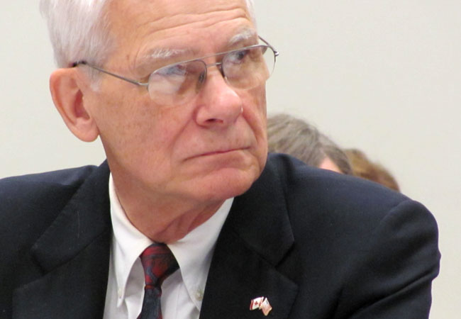 State Rep. Tom Huntley, D-Duluth, in a 2011 file photo.