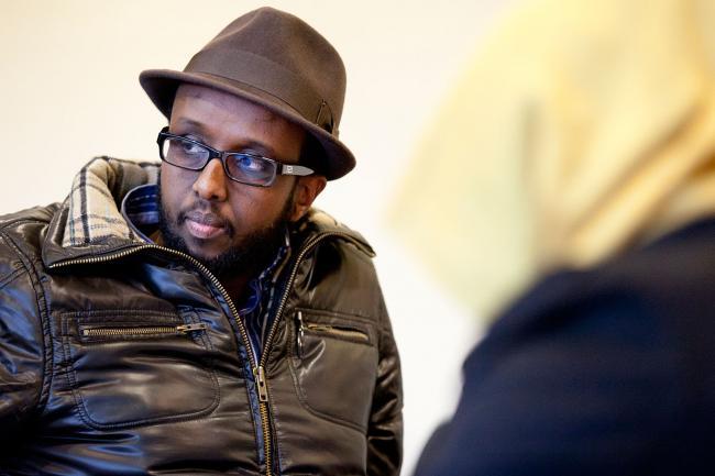 Somali newsman
