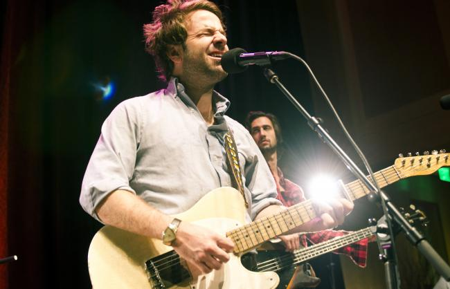 Dawes during their previous performance in The Current's UBS Forum.