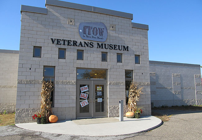 The Veterans Museum in Perham, Minn.
