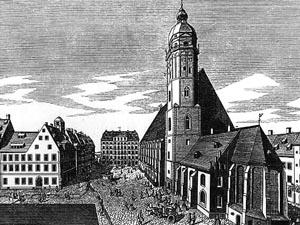 St. Thomas Church in Leipzig.