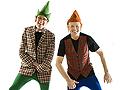 Kling and Kramer clowning around