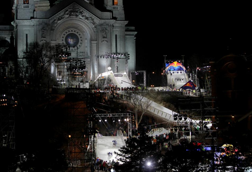 Crashed Ice course