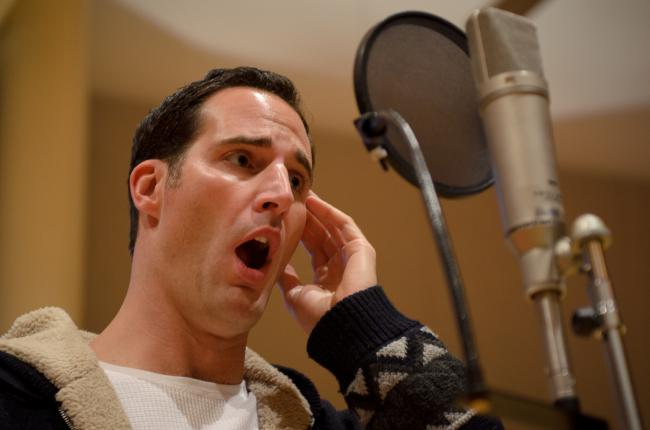 Tenor, James Valenti (MPR Photo/Nate Ryan)