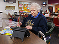 Retired Flamingo Bingo caller Joyce Fortier