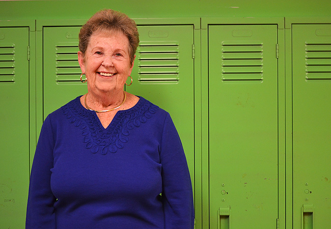 Marlys Toogood attended the public unveiling of a new statewide outreach campaign designed to enroll more Minnesotans in the program formerly called food stamps. Toogood delivers meals to seniors in Roseville and sees seniors struggling to get enough nutritious food.