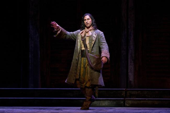 "Kyle Ketelsen as Leporello in Mozart's ""Don Giovanni."" (Marty Sohl/Metropolitan Opera)"