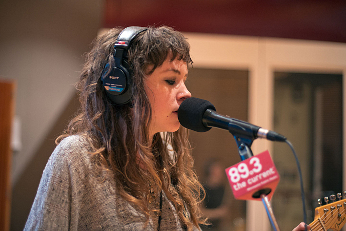 Sarah Rose of Is/Is performs in The Current studios