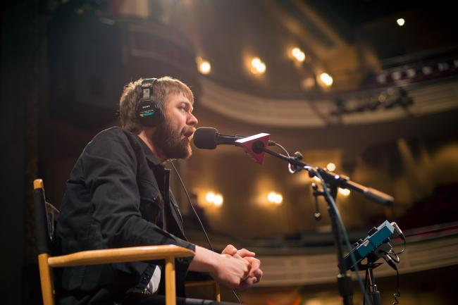 Kasabian performs in The Current studios
