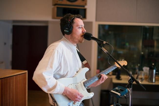 Joseph Mount of Metronomy performs in The Current studios