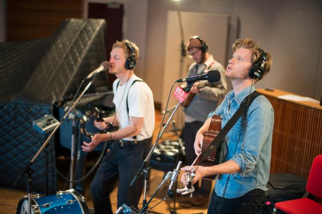 The Lumineers performs in The Current studios
