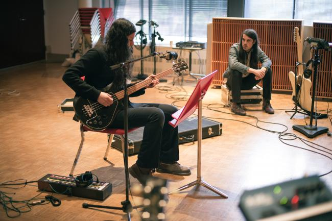 Cults performs in The Current studios