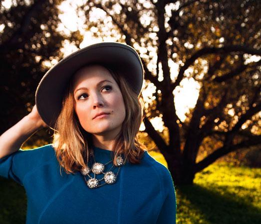 Singer-songwriter and fiddler Sara Watkins, formerly of Nickel Creek.