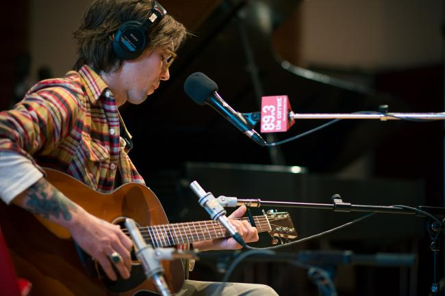 Justin Townes Earle performs in The Current studios