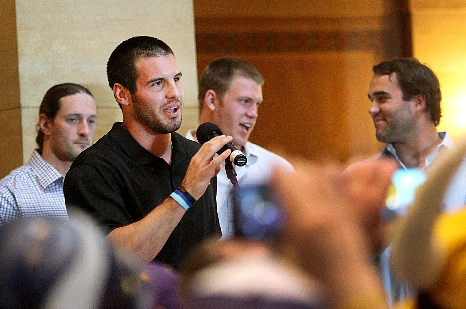 Vikings quarterback Christian Ponder