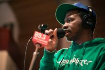 MaLLy performs in The Current studios