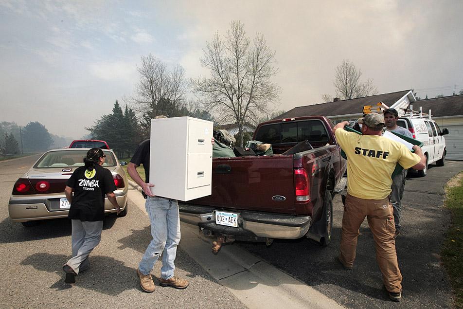Photos The Highway 1 Fire Near Ely Minnesota Public