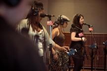 The Chalice performs in The Current studios