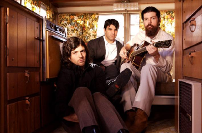 Beloved indie Americana act the Avett Brothers.