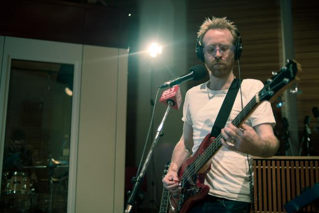 Hot Chip bassist and multi-instrumentalist Al Doyle.